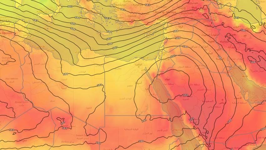 مصر | طقس صيفي اعتيادي في مُختلف المناطق خلال الأيام القادمة
