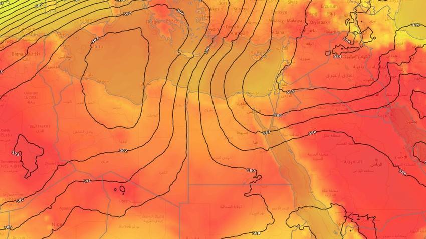 مصر | طقس شديد الحرارة على معظم انحاء الجمهورية خلال الأيام القادمة