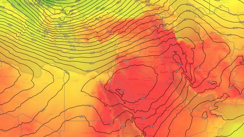 بلاد الشام | طقس حارّ الأربعاء وانخفاض تدريجي ومُستمر على درجات الحرارة اعتباراً من الخميس