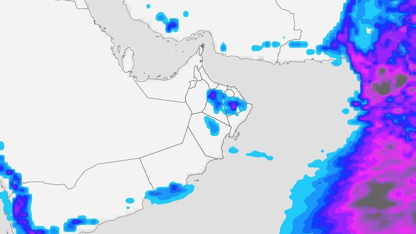 سلطنة عُمان | تراجع لافت على الأجواء اللاهبة وتحسن فرص الأمطار خلال نهاية الأسبوع