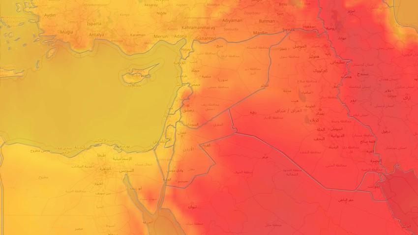 بلاد الشام | المزيد من الارتفاع على درجات الحرارة وهذه هي أبرز توقعاتنا خلال نهاية الأسبوع