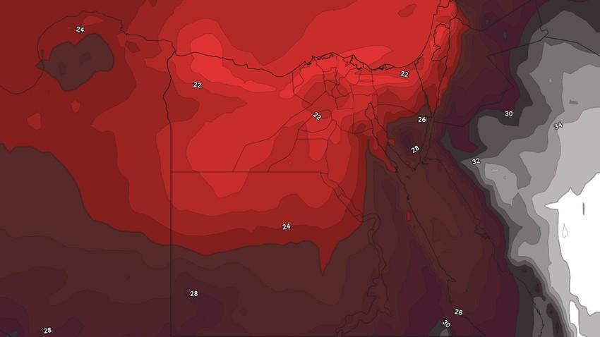 مصر | طقس صيفي حار بشكلٍ لافت في عموم المناطق نهاية الأسبوع