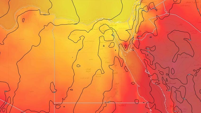 alerte | Avec une température allant jusqu'à 40 degrés Celsius .. une augmentation croissante des températures au cours des prochains jours en Egypte