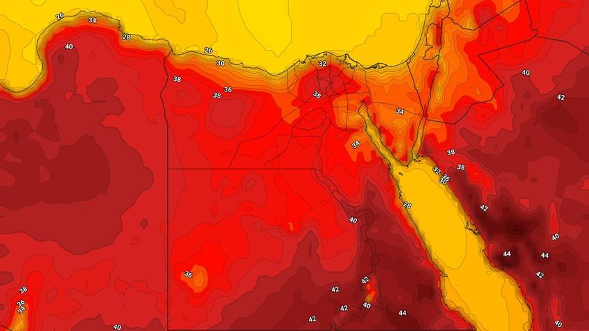 مصر | ارتفاع تدريجي على الحرارة اعتباراً من الثلاثاء
