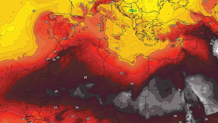 Egypte | Temps d'été chaud accompagné de vents actifs qui soulèvent de la poussière et de la poussière dans de nombreuses régions en fin de semaine