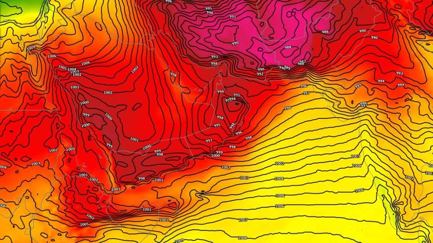 سلطنة عُمان   ارتفاع تدريجي على الحرارة واستمرار فرص الأمطار في بعض المناطق خلال الأيام القادمة