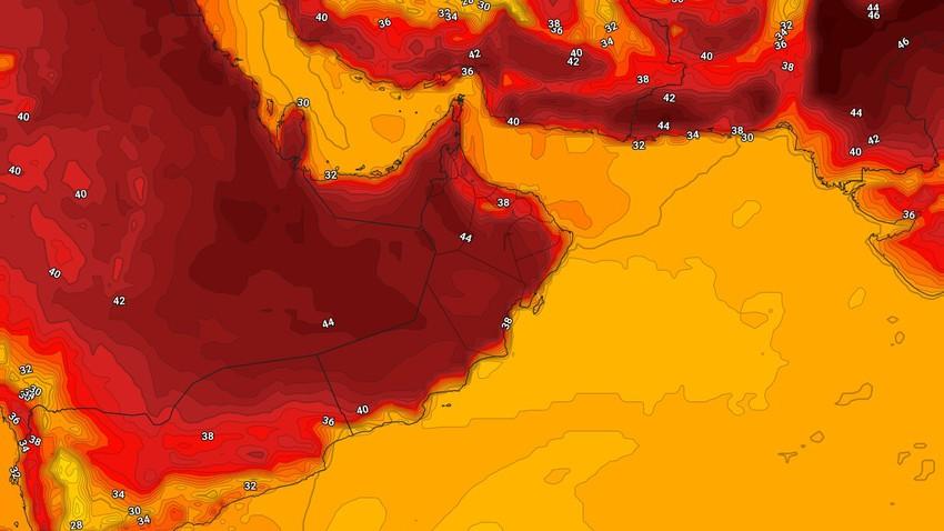 سلطنة عُمان | تراجع وطأة الحر مع بقاء الأجواء الحارّة هي السائدة خلال نهاية الأسبوع