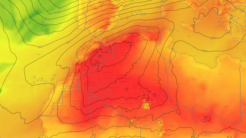 Algeria | Once again, a hot air mass is rushing towards the Republic, starting from Wednesday