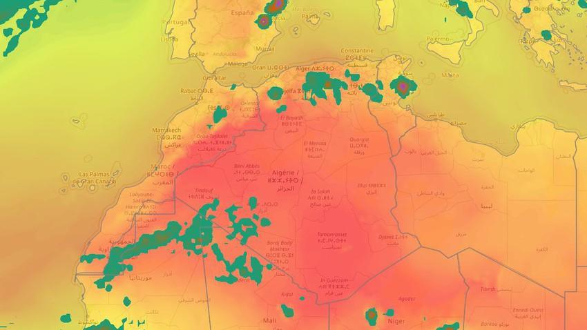 المغرب العربي | طقس العرب يُنبه من غزارة الأمطار وسيول قد تكون جارفة الأيام القادمة في هذه المناطق