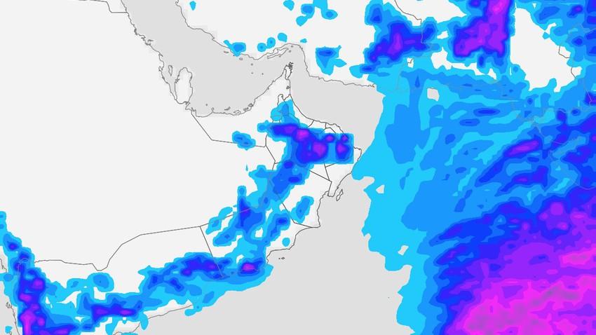 سلطنة عُمان   مؤشرات على عودة فرص الأمطار بداية الأسبوع القادم