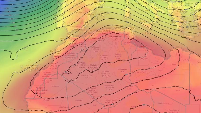 الجزائر   اشتداد إضافي على تأثير الكتلة الهوائية الحارّة على الجمهورية خلال الأيام القادمة