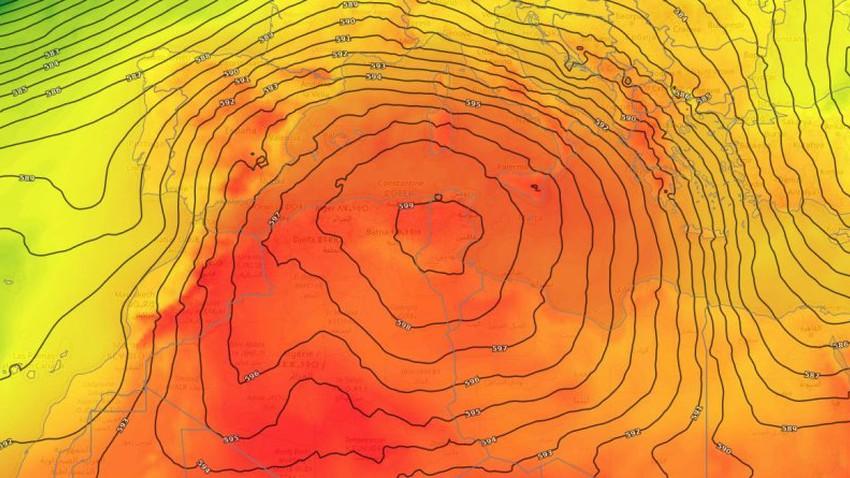 La météo arabe révèle la raison de la fréquence des vagues de chaleur dans une grande partie du continent européen et du Maghreb arabe.. Le réchauffement climatique y a-t-il un rôle ?