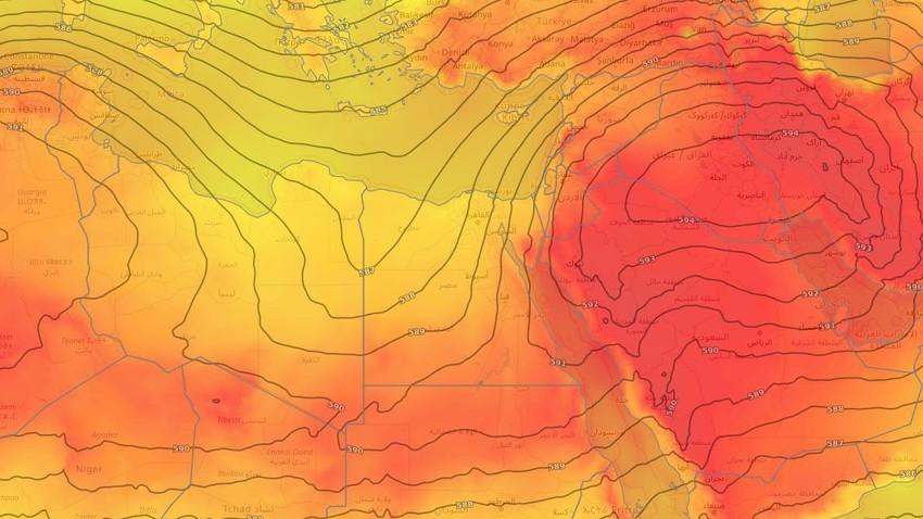 مصر | انخفاض تدريجي على درجات الحرارة في المناطق الشمالية خلال الأيام القادمة