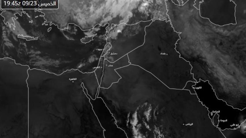 مصر | بداية تدفق سحب منخفضة على شمال الدلتا مترافقة بأمطار مُتفرقة وتزايد فُرص الأمطار خلال الساعات القادمة