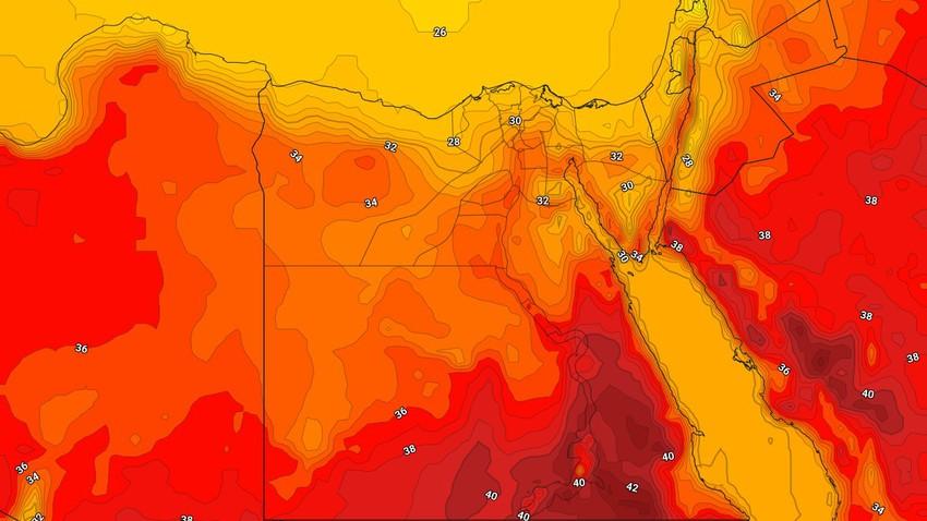 مصر | طقس أقرب للخريفي والمزيد من الانخفاض على درجات الحرارة الأيام القادمة