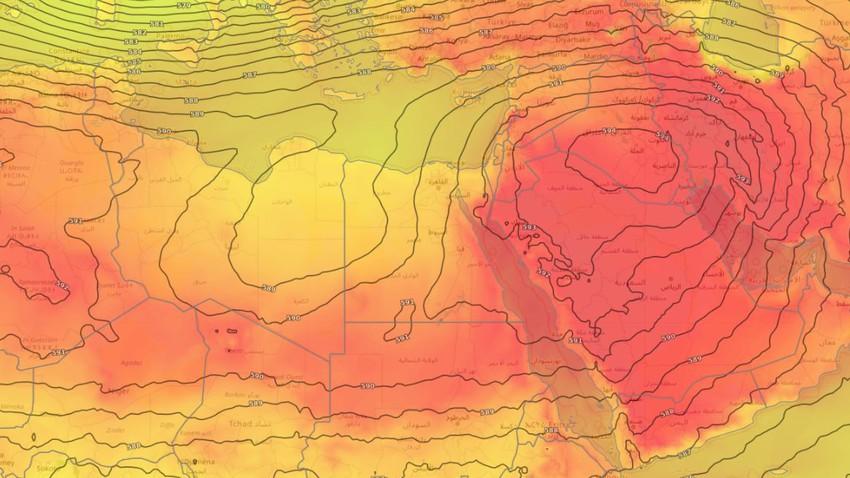 مصر | ارتفاع طفيف على درجات الحرارة وطقس حار في أغلب المناطق الخميس