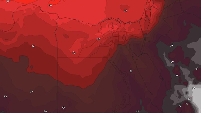 Égypte | Une augmentation progressive et significative des températures jusqu'à la fin de la semaine