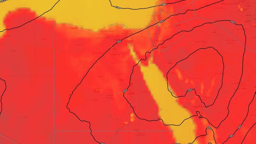 مصر | ارتفاع إضافي على درجات الحرارة وأجواء شديدة الحرارة في أغلب المناطق الثلاثاء
