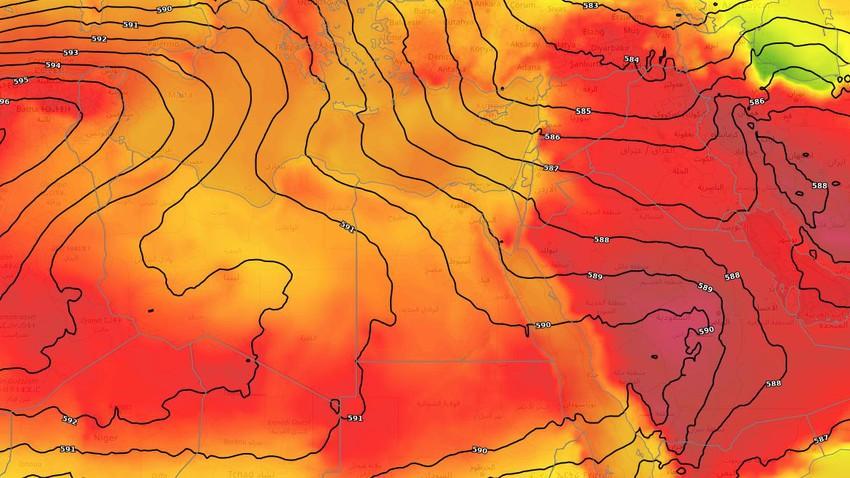 مصر | بحرارة تصل إلى 40 مئوية في القاهرة .. المزيد من الارتفاع على درجات الحرارة الأيام القادمة