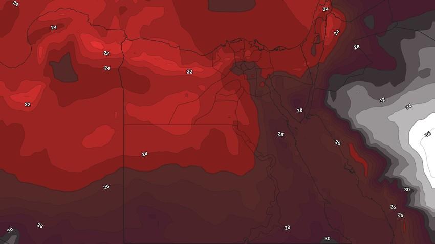 مصر | المزيد من الارتفاع على الحرارة الخميس وأجواء شديدة الحرارة في أغلب المناطق