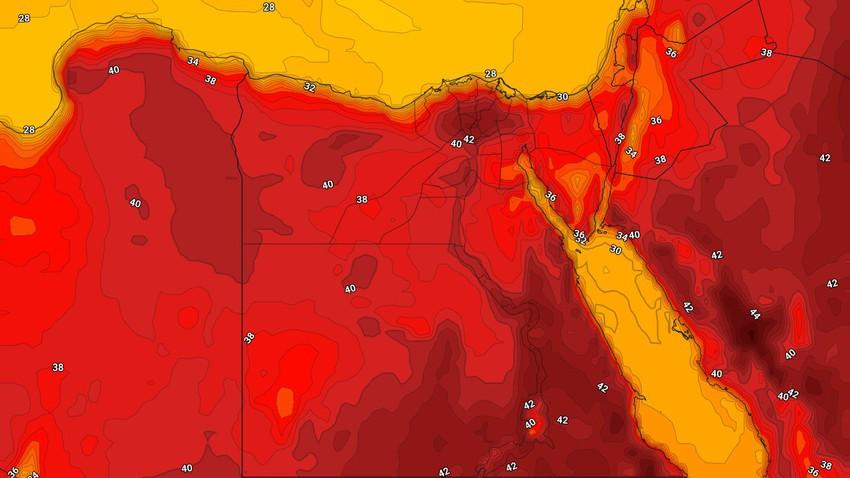 مصر | ارتفاع تدريجي على درجات الحرارة اعتباراً من الأحد