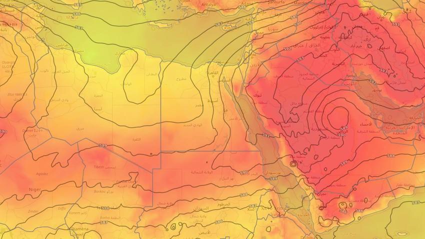 مصر | بحرارة حول الـ 35 مئوية في القاهرة.. المزيد من الانخفاض على درجات الحرارة الأيام القادمة