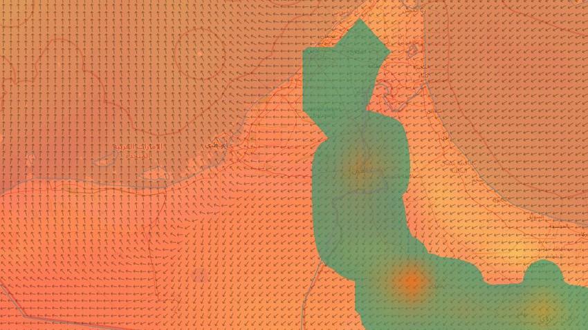 الإمارات | أمطار رعدية في العديد من المناطق الداخلية للدولة الخميس .. تفاصيل وتوصيات
