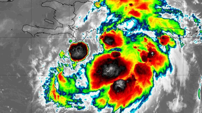 المصائب لا تأتي فُرادى.. هايتي بعد الزلزال المُدمر تستعد لاستقبال عاصفة استوائية مساء الاثنين