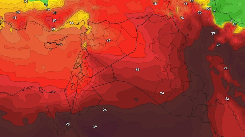 Koweït | Une hausse supplémentaire des températures jeudi et un temps chaud dans toutes les régions