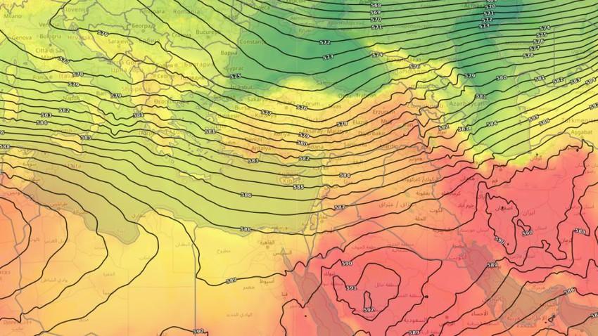Levant | Nouvelle baisse des températures et nuits plus fraîches dans la plupart des régions en fin de semaine