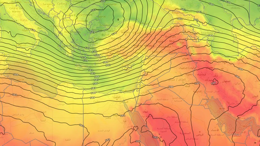 Levant | Une masse d'air plus modérée fera chuter les températures à vingt degrés Celsius au cours des prochains jours