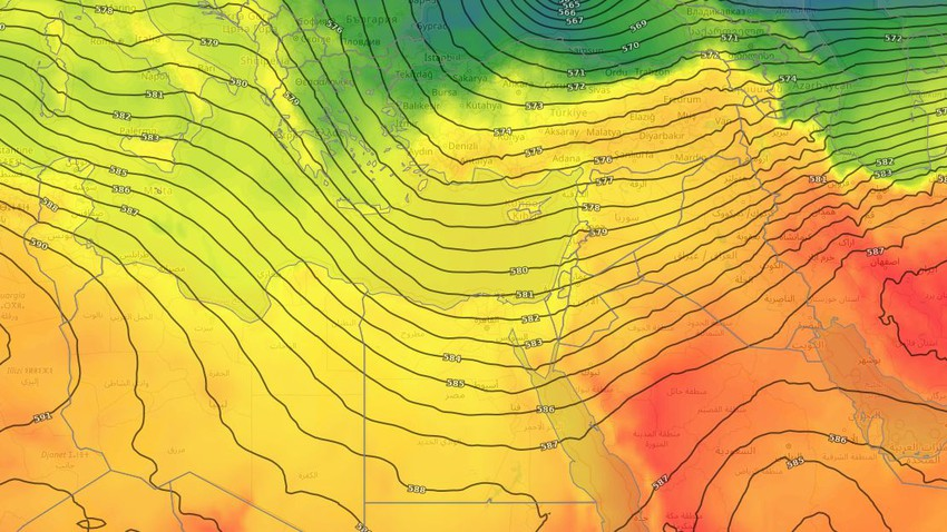 Egypt | Autumn air mass dominates the country in the coming days
