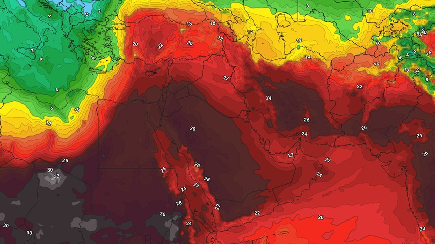 Jordan | There are many reasons why the coming days will be hot par excellence