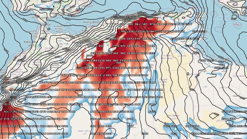 هام | طقس العرب ينبه من موجة غبارية كثيفة تجتاح أجزاء من شمال الجزائر والرؤية الأفقية تنخفض لـ 500 متر