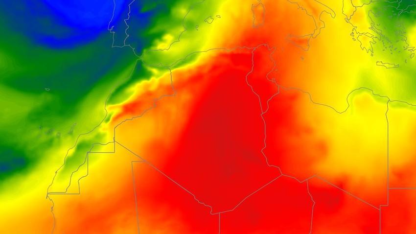 الجزائر | فروقات كبيرة في درجات الحرارة بين الأجزاء الشرقية والغربية من الجمهورية بالتزامن مع تراجع لافت على فرص الأمطار خلال الأسبوع القادم