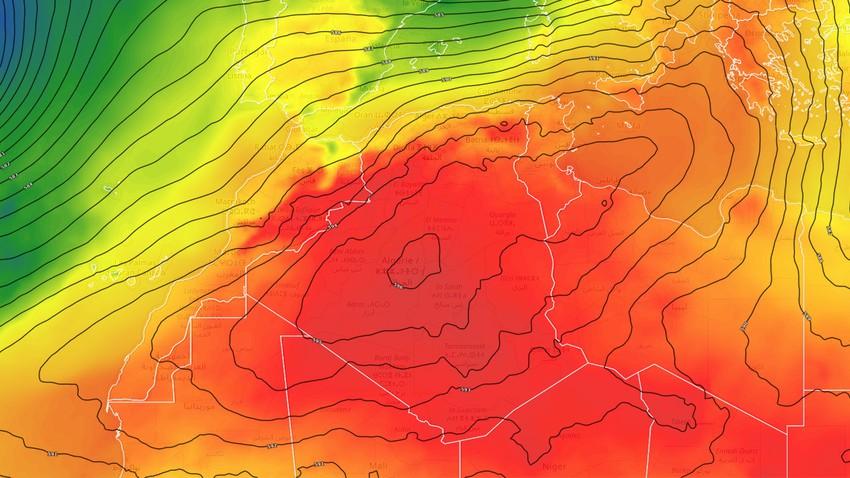 الجزائر | اشتداد إضافي على الأجواء الحارة بالتزامن مع أحوال جوية غير مستقرة في بعض المناطق خلال الأيام القادمة