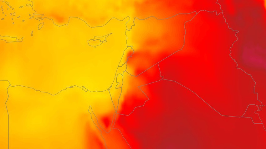 Levant | Significant changes are expected in the atmosphere during the next week