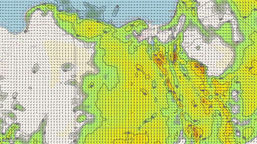 Egypt | Normal summer weather, accompanied by active winds that raise dust and dust in many areas during the coming days