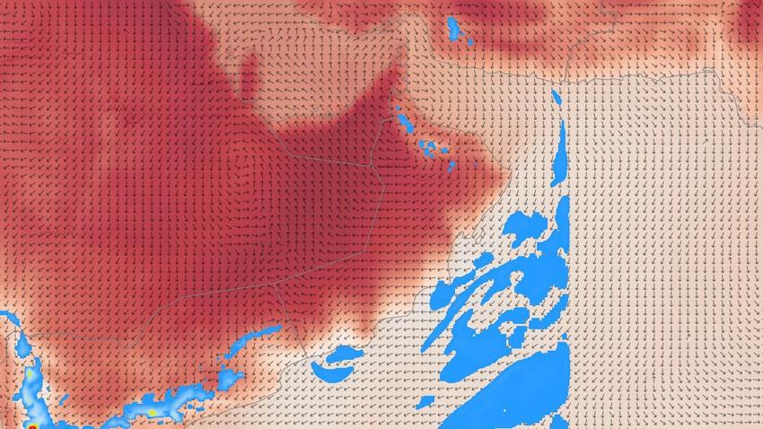 سلطنة عُمان   انخفاض مرتقب على الحرارة واستمرار فرص الأمطار في بعض المناطق الإثنين