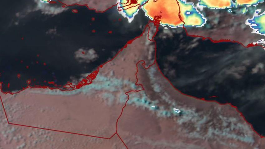 سلطنة عُمان | خلية ركامية على أعتاب ولاية مسندم وهذه توقعاتنا الساعات القادمة