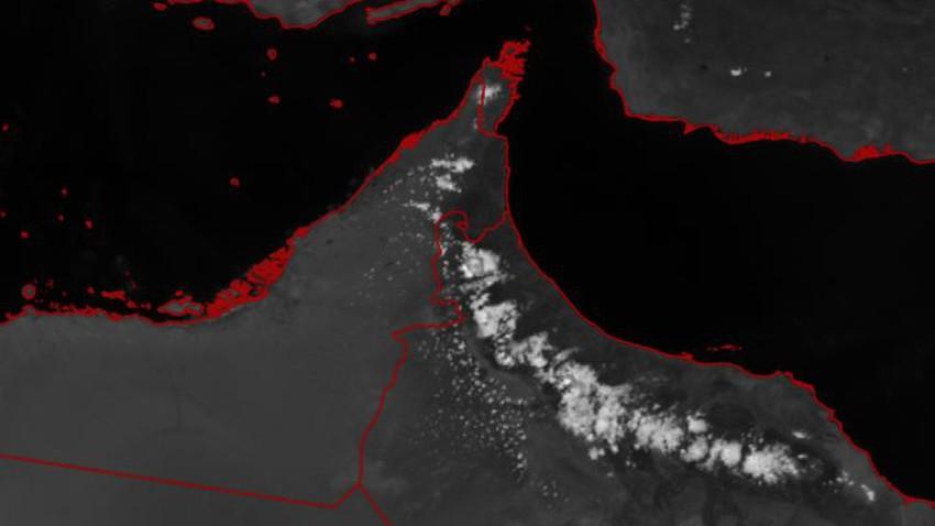 سلطنة عُمان | تطور مُبكر للسحب الركامية على جبال الحجر والأمطار تشمل هذه المناطق الساعات القادمة