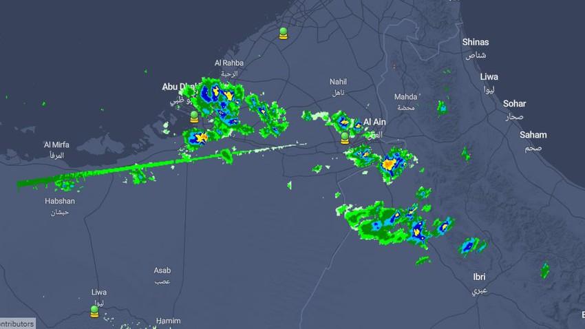 الإمارات | السُحب الرعدية تؤثر على العين والمزيد خلال الساعات القادمة