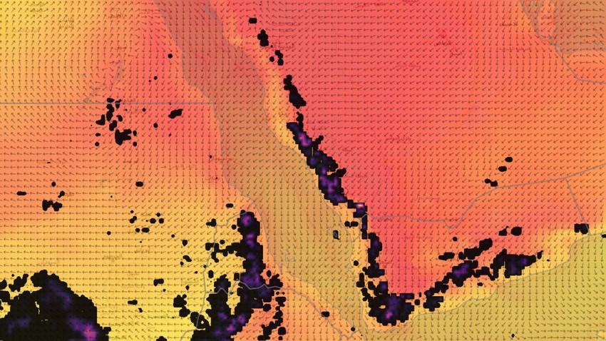 تنبيه مُتقدم   عدد من المناطق السعودية على موعد مع أمطار رعدية غزيرة الساعات القادمة
