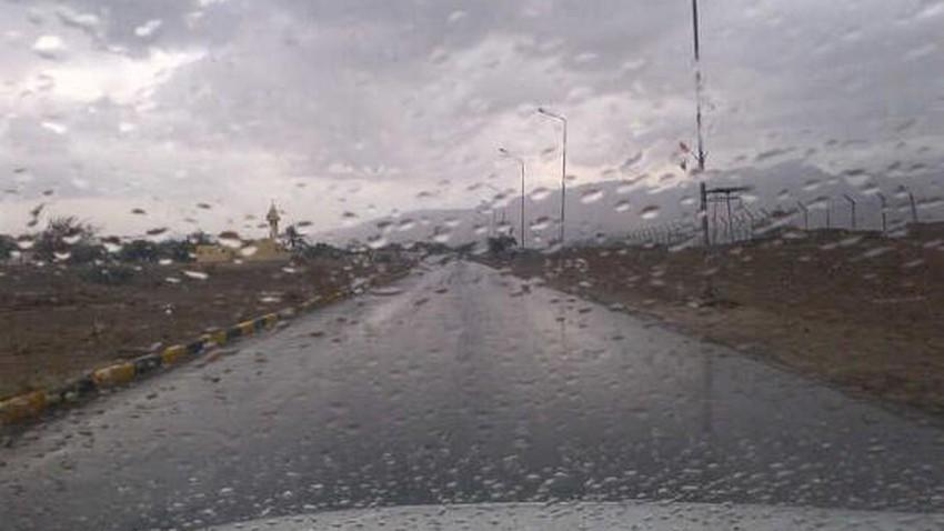 الإمارات   زخات أمطار رعدية على شرق الدولة يوم الاثنين