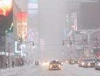 اغلاق مدينة نيويورك بالكامل بسبب عاصفة جوناس الثلجية