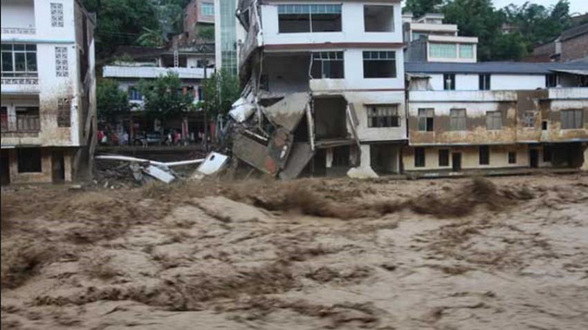 قتلى فيضانات الصين يرتفع إلى 83 شخصاً