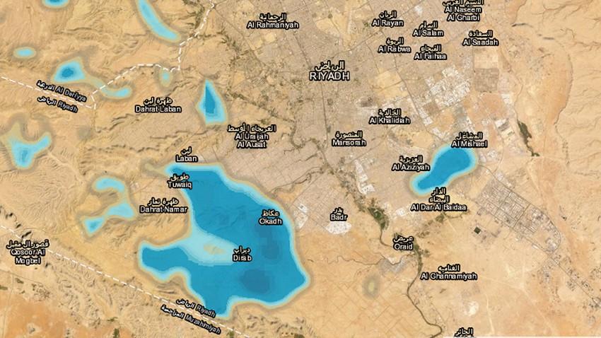تحديث 5:28م   تشكيلات من السحب تتطور في سماء الرياض الان .. تفاصيل