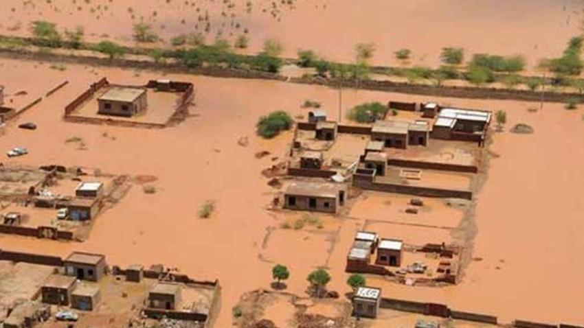 220 ألف شخص تأثروا في السودان بسبب السيول والفيضانات