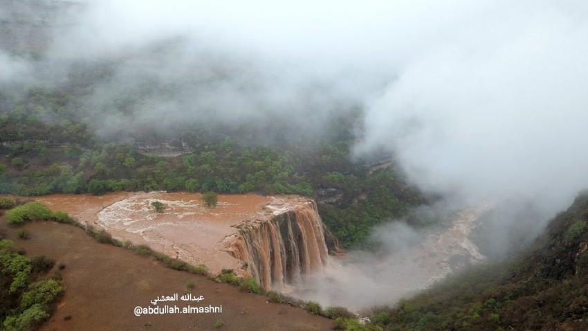 كميات الأمطار الهاطلة على عدد من ولايات السلطنة من27 - 30 مايو 2020