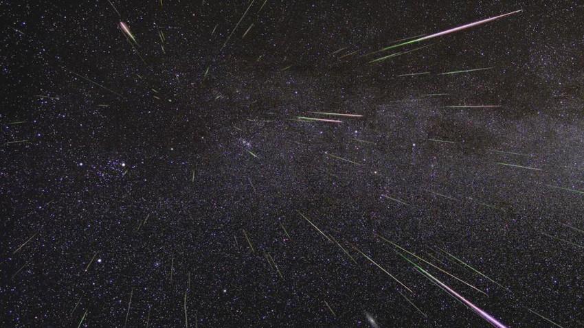 ناسا ترصد الكرات النارية لذروة زخات شهب البرشاويات